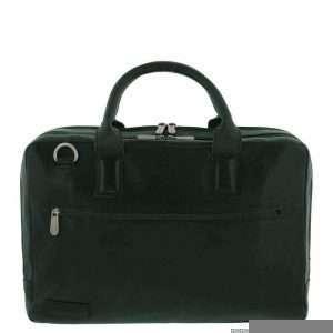 Plevier Lederen Laptoptas 15.6 inch Black 482