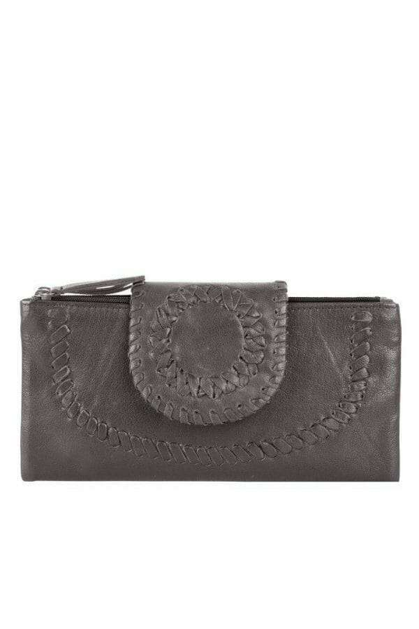 Ladies Wallet - Elephant Grey