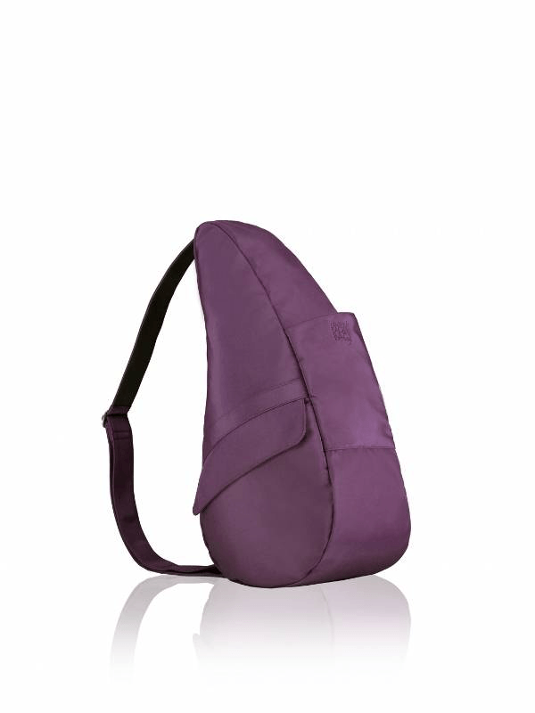 Healthy Back Bag Microfibre Small Black Plum 7303-BP
