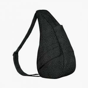 Healthy-Back-Bag-Textured-Nylon-Small-Moire-Black-19273-BK.jpg
